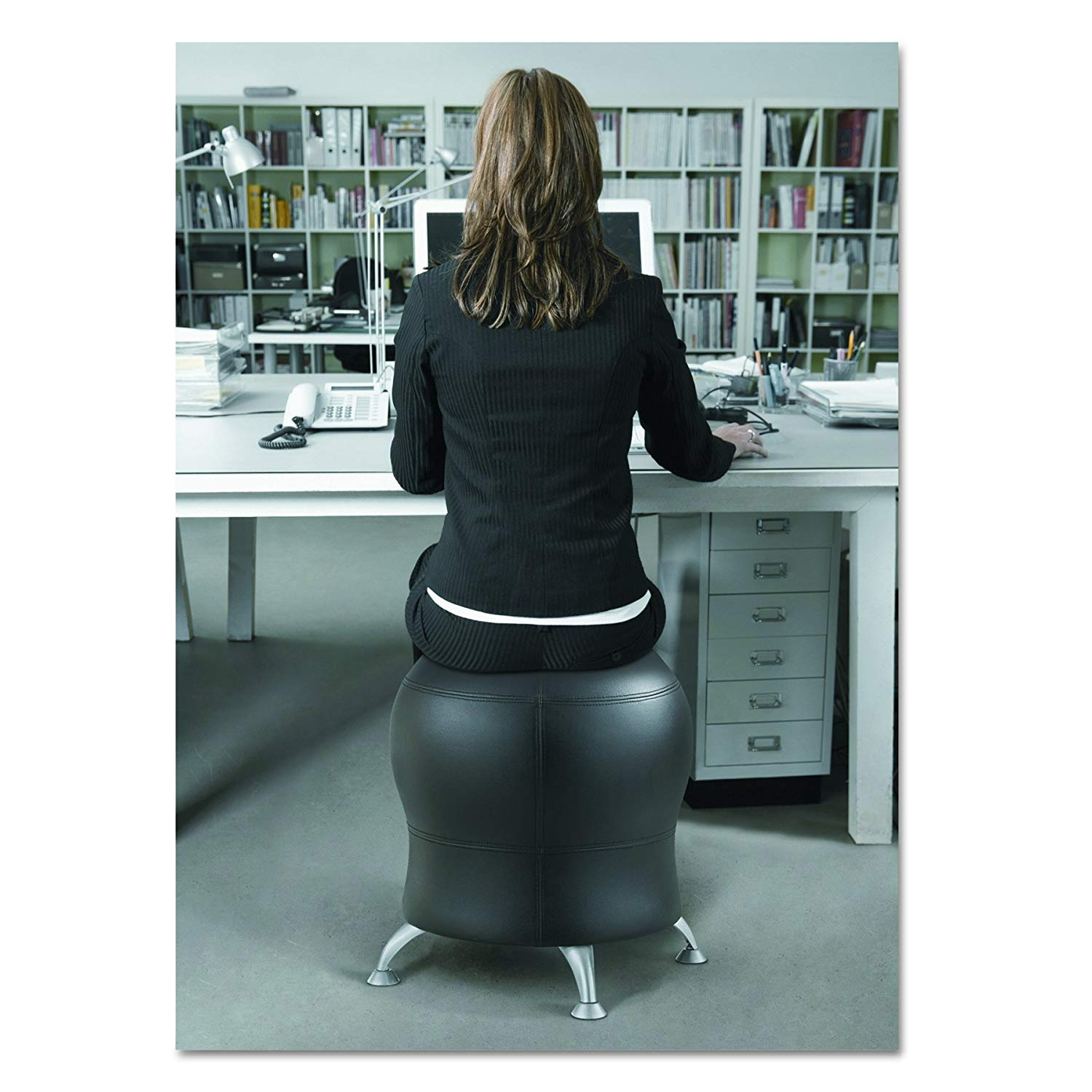 ball chair amazon office wood improve your posture with this zenergy the daily caller photo via