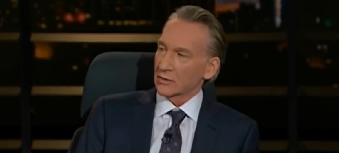 "Bill Maher appears on his HBO Cable Show ""Real Time with Bill Maher,"" Oct. 26, 2018. YouTube screenshot."