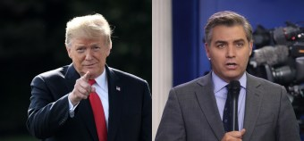 Acosta Asks Trump Why He Called Forces Against Kavanaugh 'Evil' — Trump Responds