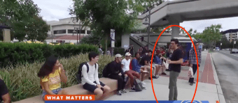 MSNBC Asks Youth Voters Who They'll Vote For In November — Their Answers Shock Reporter