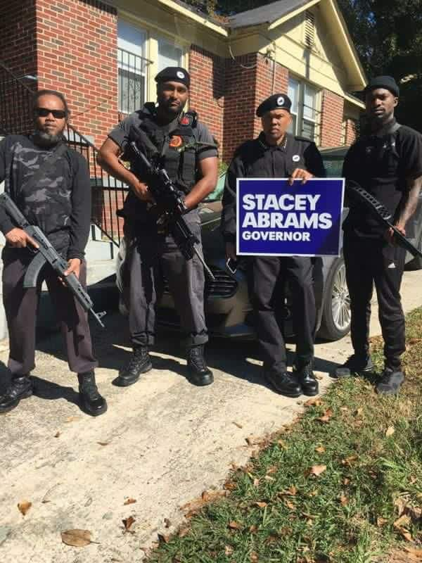 Black Panthers in Atlanta.