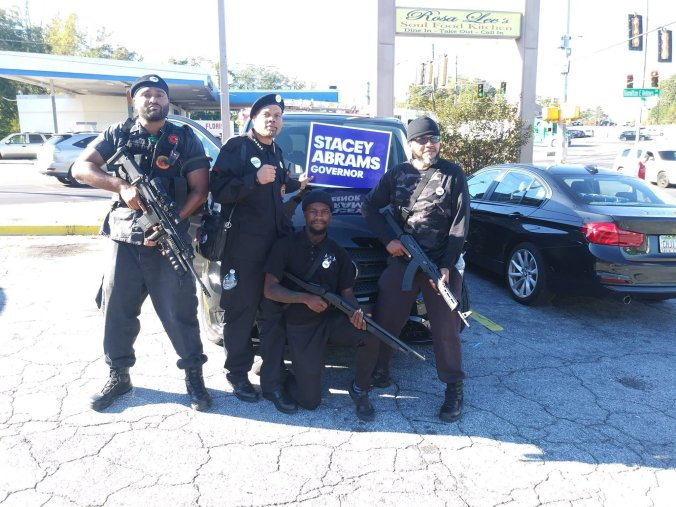 Black Panthers in Atlanta.