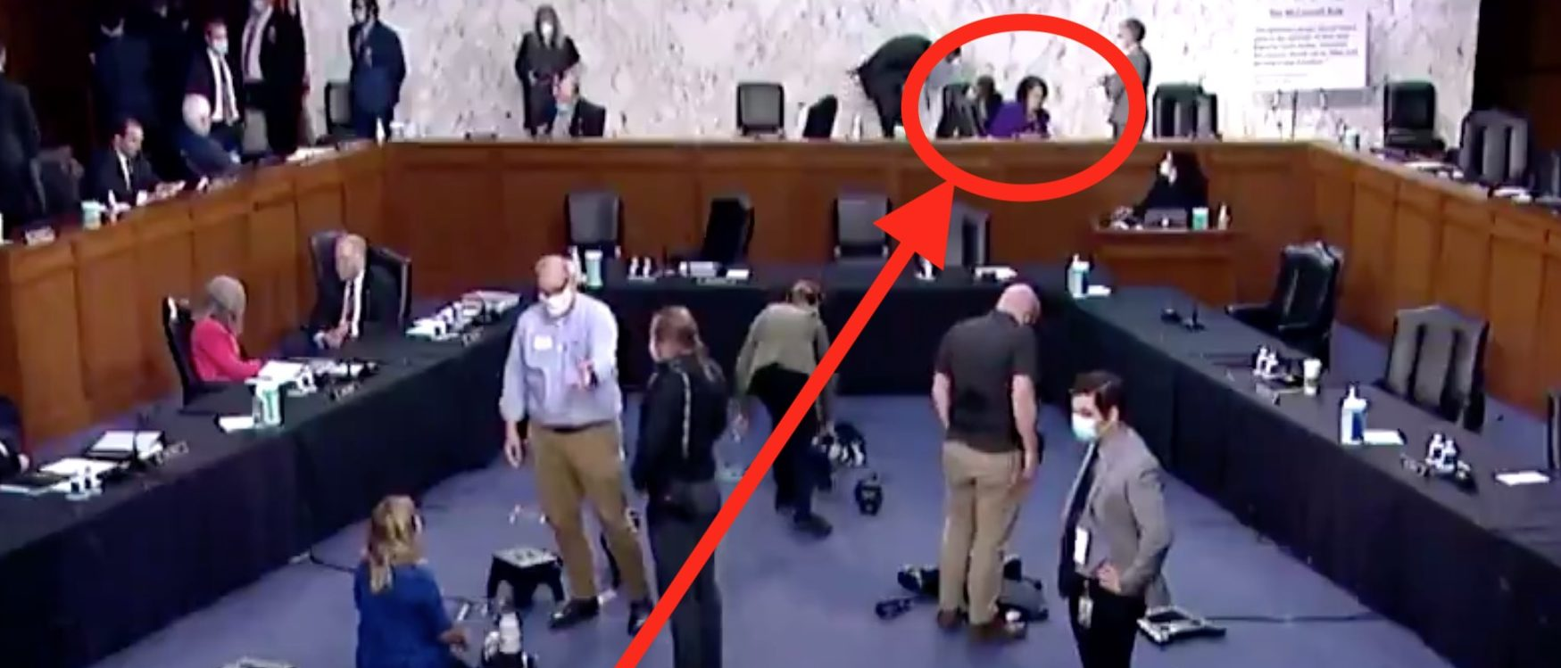 Hot Mic Reportedly Catches Dianne Feinstein Comment About Amy Coney Barrett's Religion