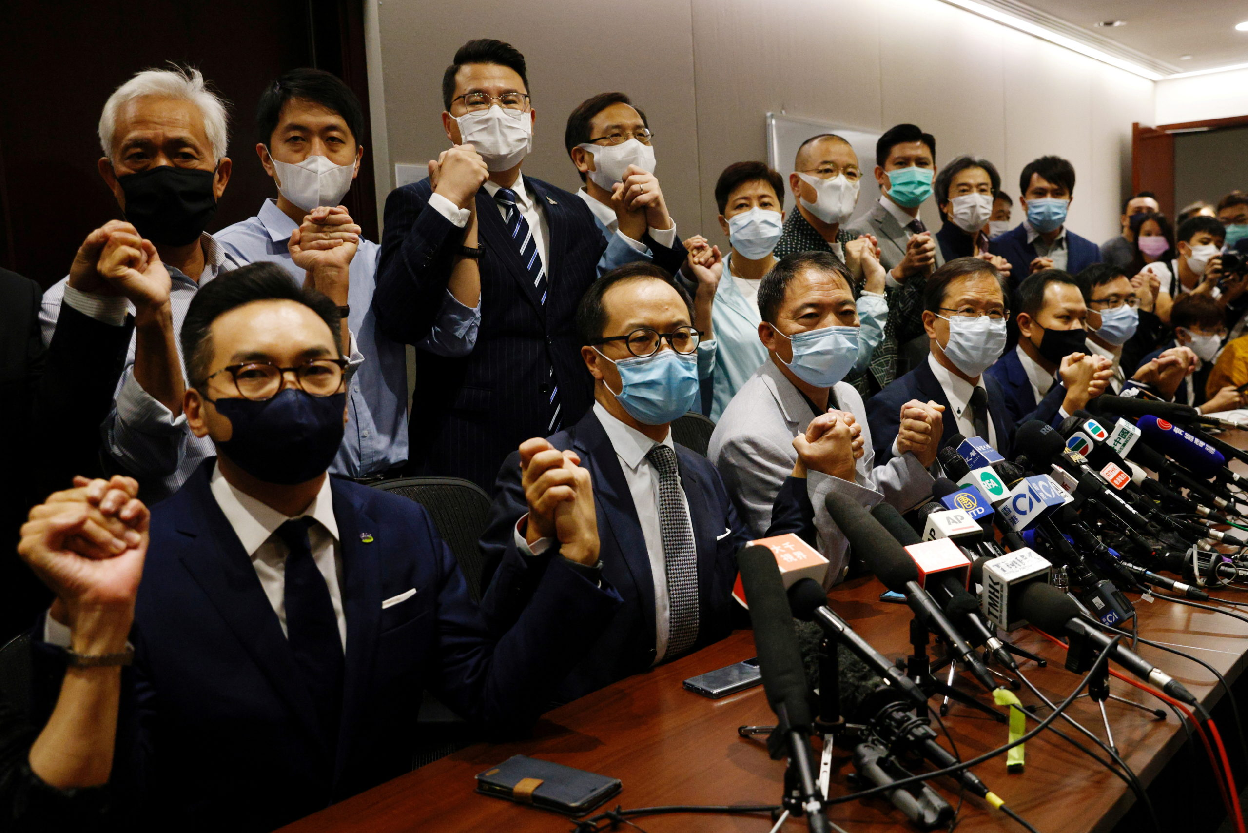 All Of Hong Kong's Pro-Democracy Lawmakers To Resign   The Daily Caller