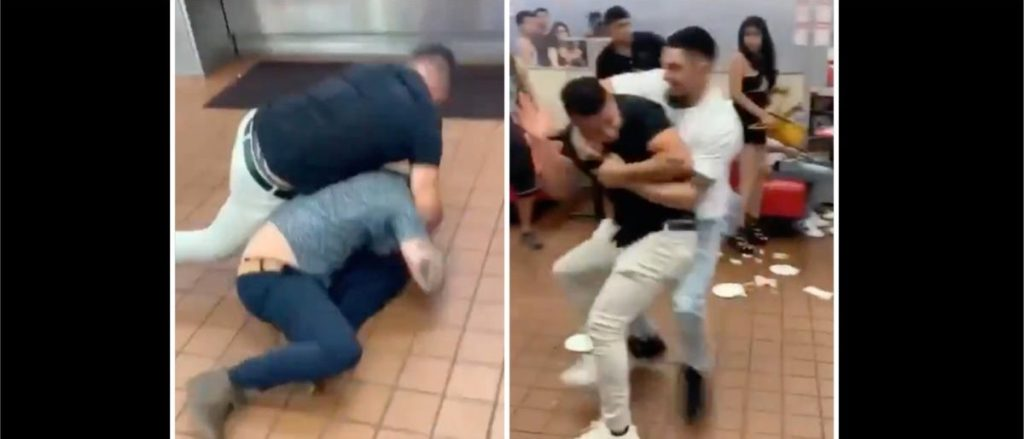 WATCH: People Get Into A Gigantic Brawl In Las Vegas In Crazy Viral Video