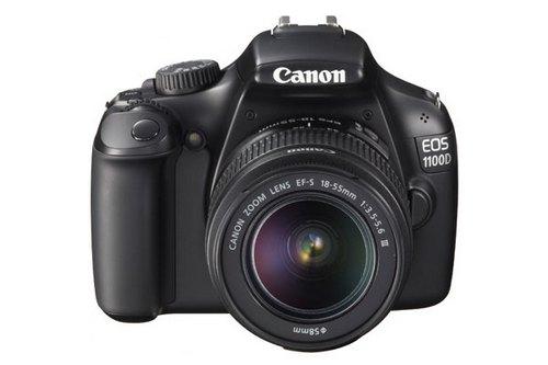 平價版 60D:Canon EOS 600D 現身 順勢升級 EOS 1100D 攻平價市場 - DCFever.com