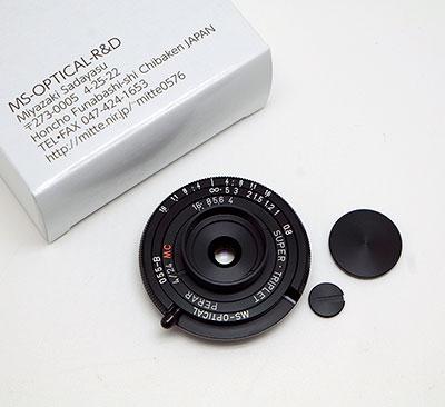 比鏡頭蓋更薄! MS Optical 宮崎光學 24mm f/4 Leica M-Mount 超級餅鏡! - DCFever.com