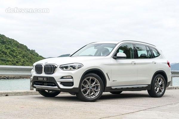 BMW X3 xDrive 30i 香港規格,價錢及介紹文 - DCFever.com