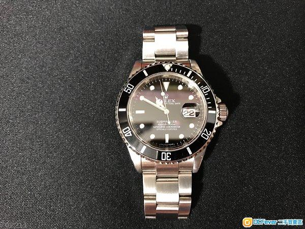 出售 Rolex 16610黑十 - DCFever.com