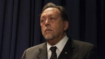 El licenciado en Criminalística Daniel Salcedo