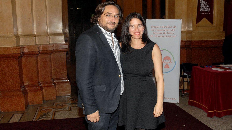 Martín Kweller y su esposa