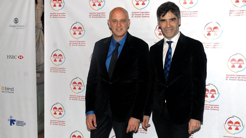 El diseñador Fabián Zitta y Charly Fonseca