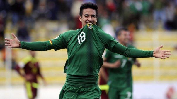 Bolivia goleó a Venezuela por 4 a 2 y consiguió su primer trinufo en las Eliminatorias