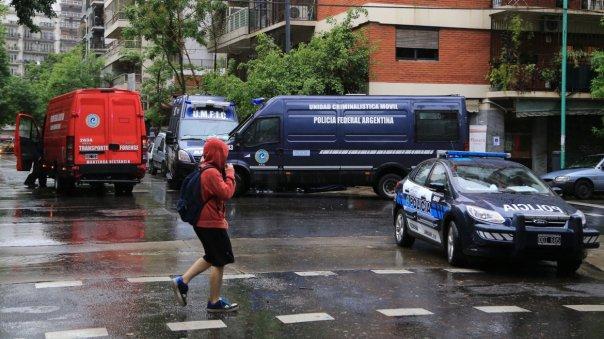 Un hombre murió baleado en la intersección de las calles Paraguay y Carranza en un episodio del que no hay aún precisiones
