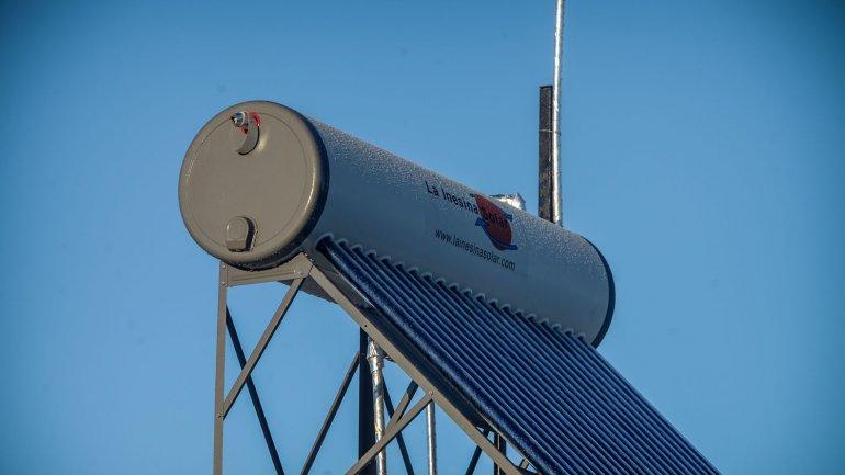 Colector solar para agua caliente