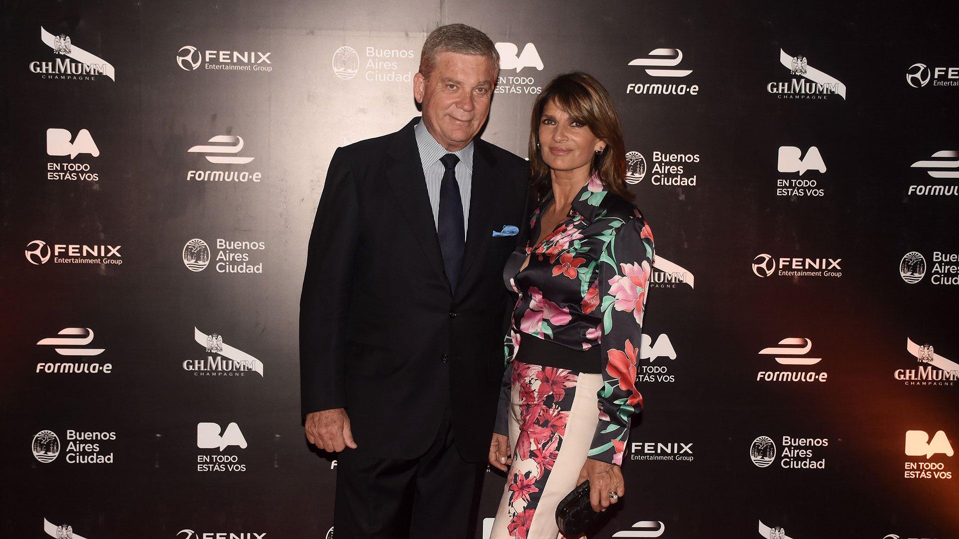 Teresa Calandra y su esposo, Gonzalo Bergadá