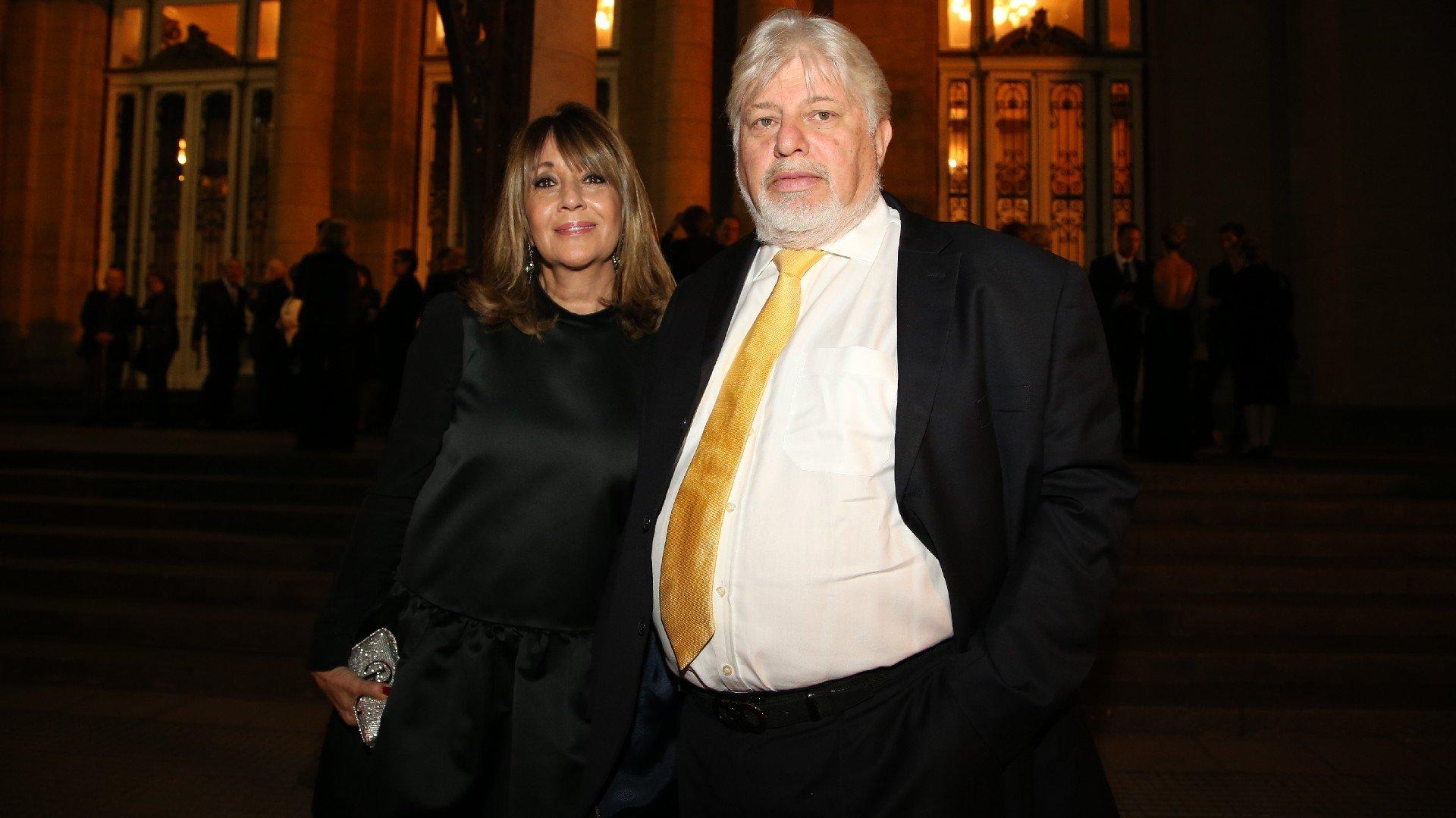 El empresario Adrián Werthein y su esposa, Fabiana Ricagno