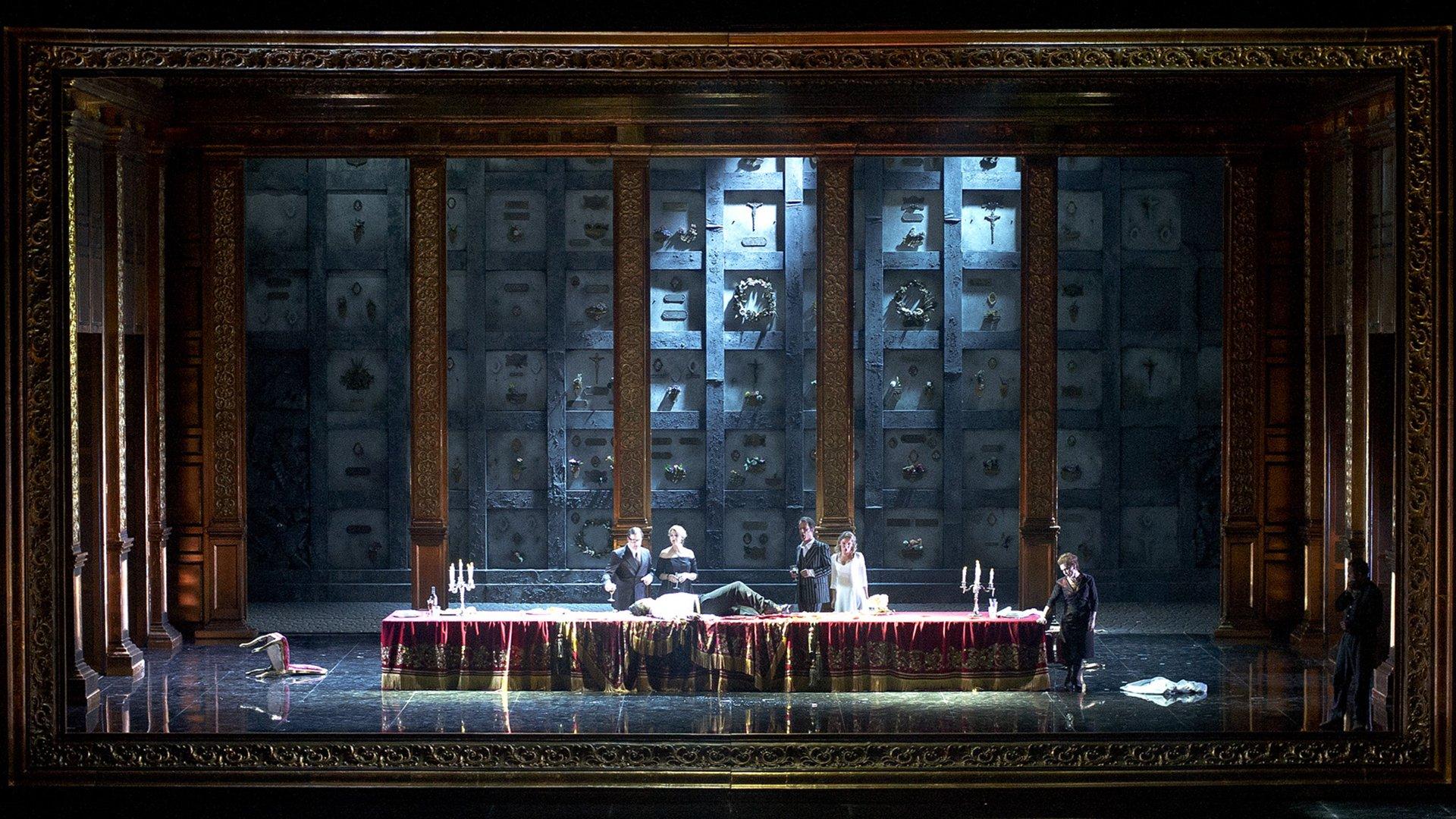 La imponente puesta en escena en el Teatro Colón