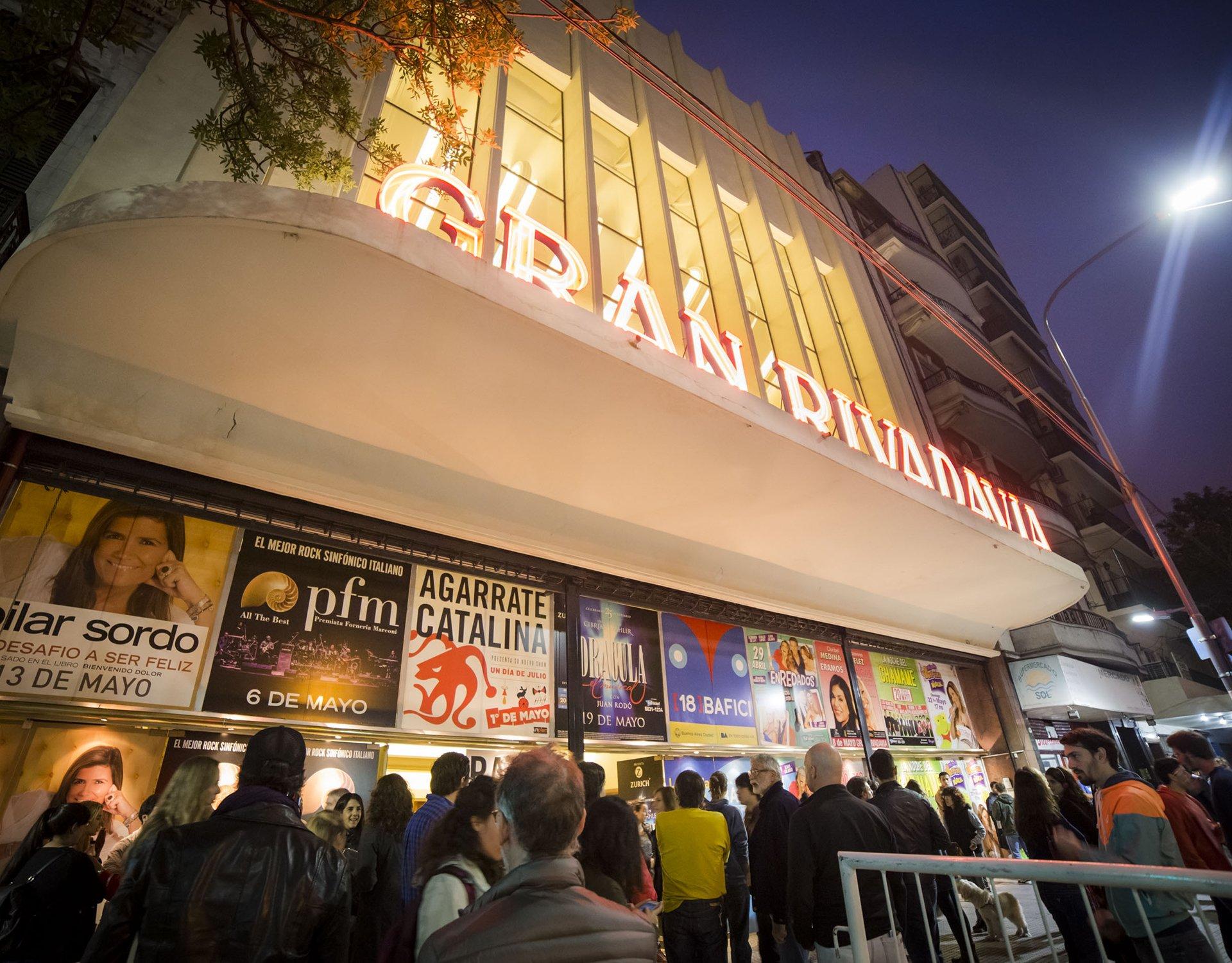 El cierre del BAFICI se llevó a cabo en el Cine Teatro Gran Rivadavia