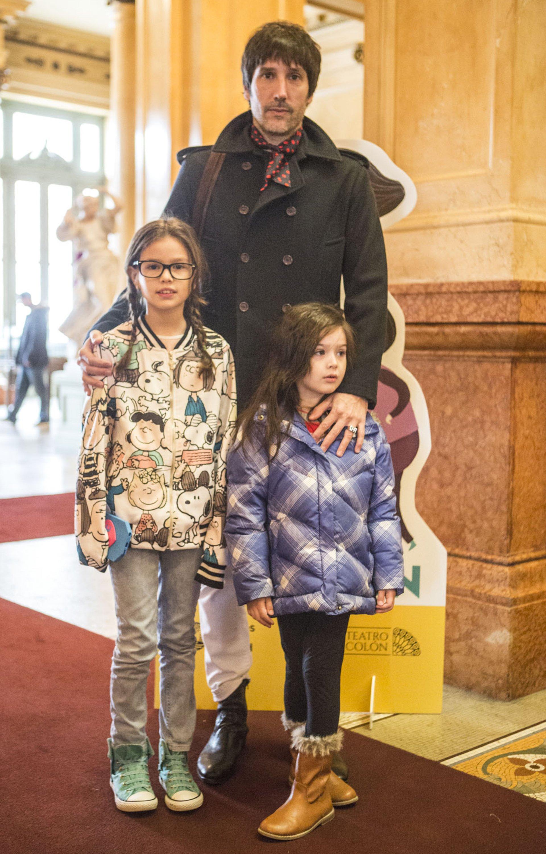 Juan Cruz Bordeu asistió en compañía de su hija, María Jesús