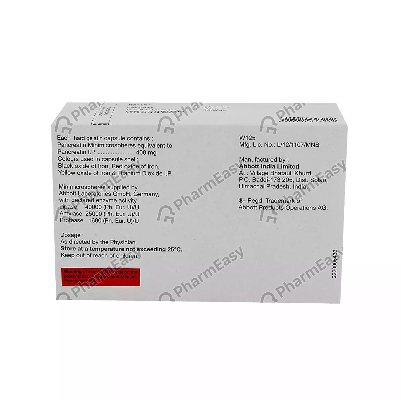 Buy Creon 40000 Capsule Online at Flat 18% OFF* | PharmEasy