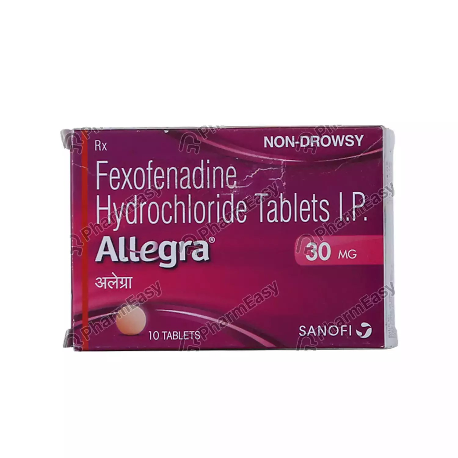 Allegra 30 MG Tablet (10) - Uses. Side Effects. Dosage. Composition & Price | PharmEasy