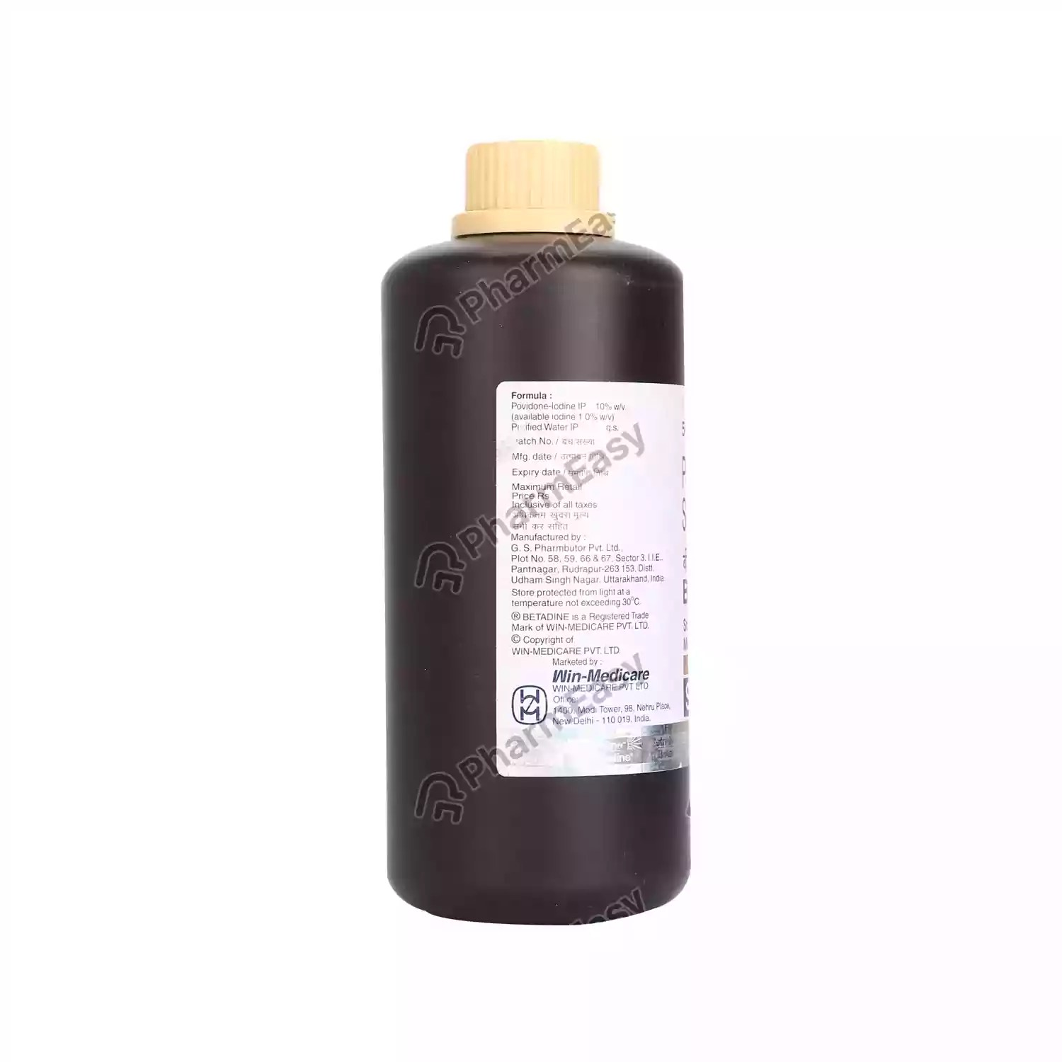 Buy Betadine 10% Solution 500ml Online at Flat 18% OFF ...