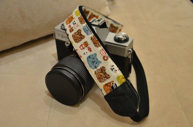 可愛動物 減壓背帶 相機背帶 烏克麗麗 Camera Strap - 設計師 布布維盈 | Pinkoi