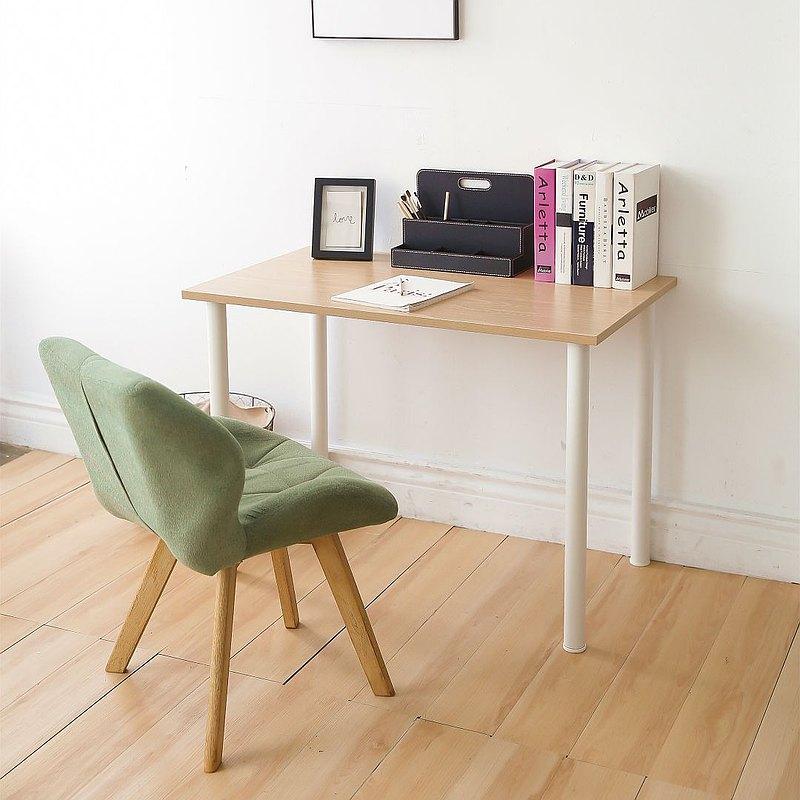 簡約風圓管腳100cm工作桌/電腦桌/書桌/辦公桌/餐桌/茶幾 - 設計館 MHSHOP生活居家 - 餐桌,書桌 | Pinkoi
