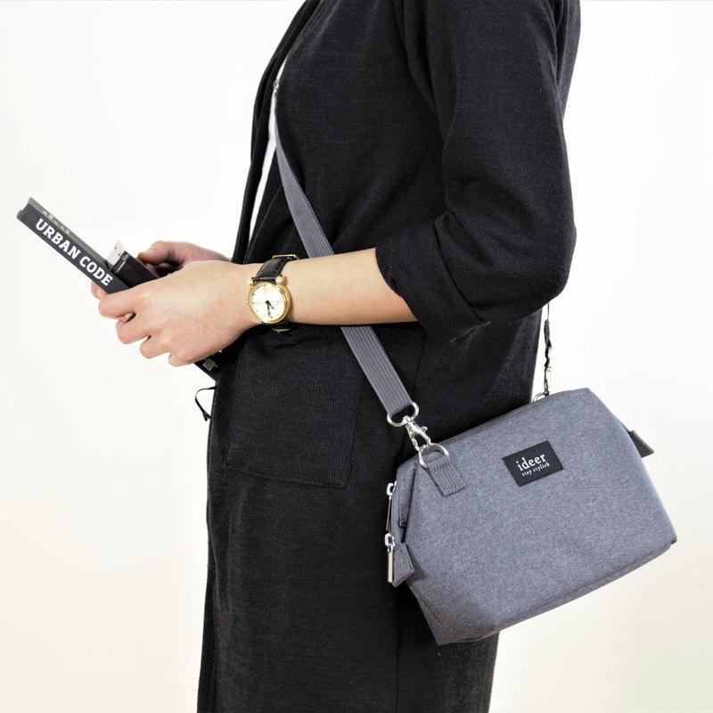 CARO簡約灰色側背包中包兩用微單相機包 - 設計館 ideer - 相機包,相機袋 | Pinkoi