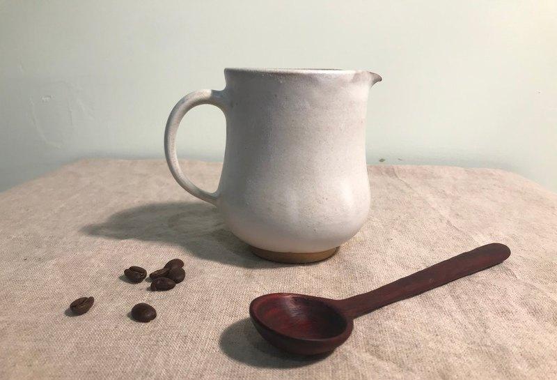霧白咖啡下壺 - 設計館 慢火雅風陶藝工作室 - 咖啡壺,周邊 | Pinkoi