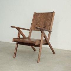Folding Chair For Living Room Waiting Area Chairs Laoshan Studio Solid Wood Bedroom Universal Lazy Leisure Armchair Simple Retro Designer Xishanworkshop Pinkoi
