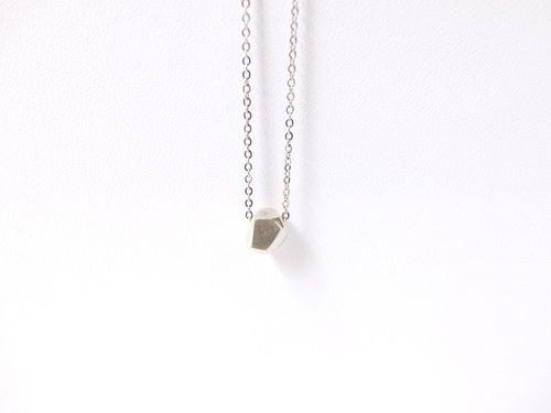 小石子 純銀項鍊 - Lorweii | Pinkoi