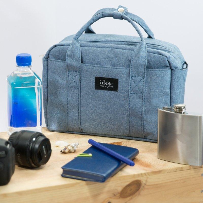 BLADEN簡約藍色側背手提包中包三用相機包 - 設計館 ideer - 相機包,相機袋 | Pinkoi