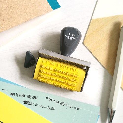 Dustykid 12款圖案手動滾輪印 不連印臺 - Dustykid 塵封小店 | Pinkoi