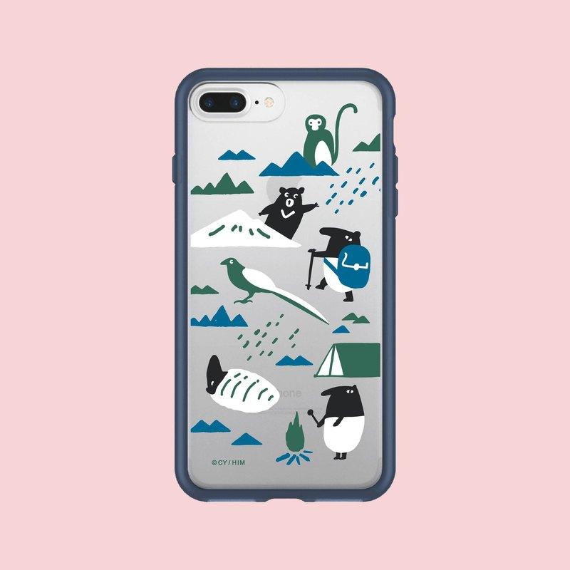 (預購)犀牛盾MOD NX手機殼/限定花色/印花樂x馬來貘-山林藍 - 設計師 印花樂 | Pinkoi