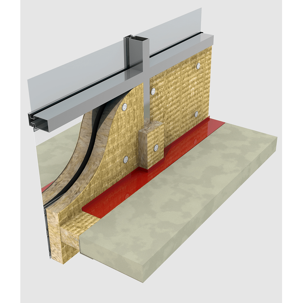 Curtain Wall Insulation