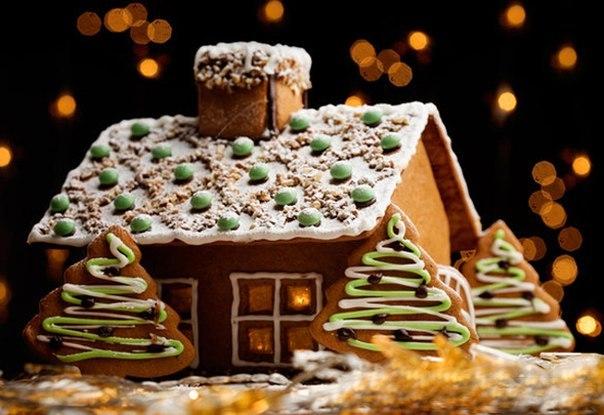 как сделать новогодний домик своими руками, как сделать рождественский домик