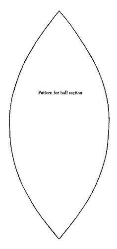 Как сшить мяч из ткани своими руками?