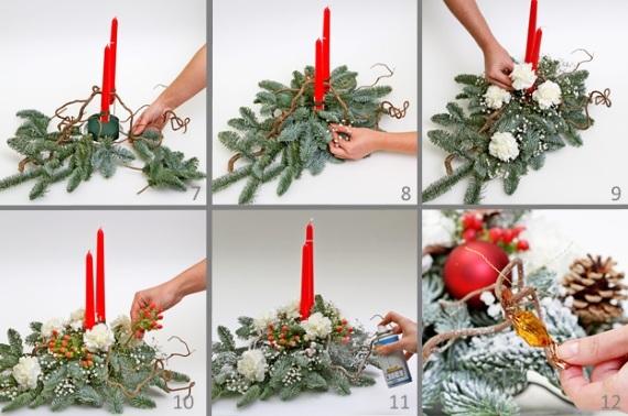 Iquebana cho năm mới bằng tay của bạn