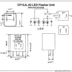 5 Pin Led Flasher Relay Wiring Diagram Chloroplast Structure Blinkrelais Lastunabhängig Relais Blinker Blinkgeber 3-polig Motorrad Quad | Ebay