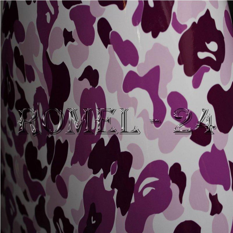1800 m Stickerbomb Autofolie folie Auto Camouflage Violet klebefolie Pink  eBay
