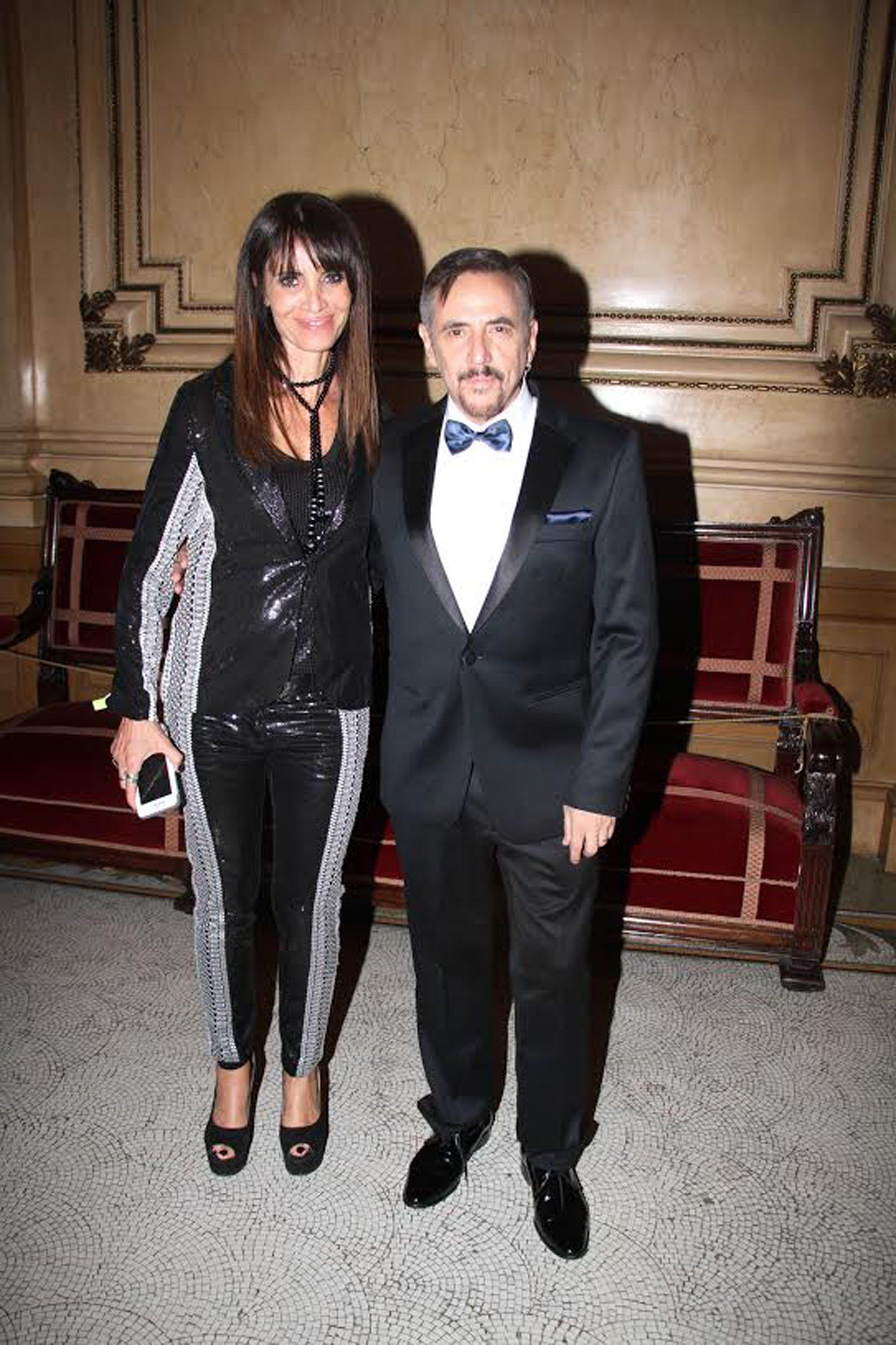 Ale Lerner y su esposa Marcela