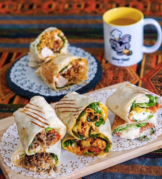 Wrap Bstrd food delivery Singapore