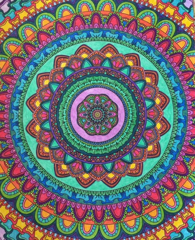 Introducing Mandalas To Color