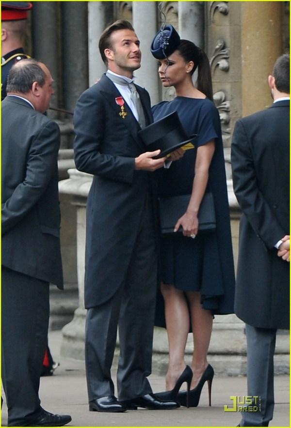 David Beckham and Victoria Beckham Wedding