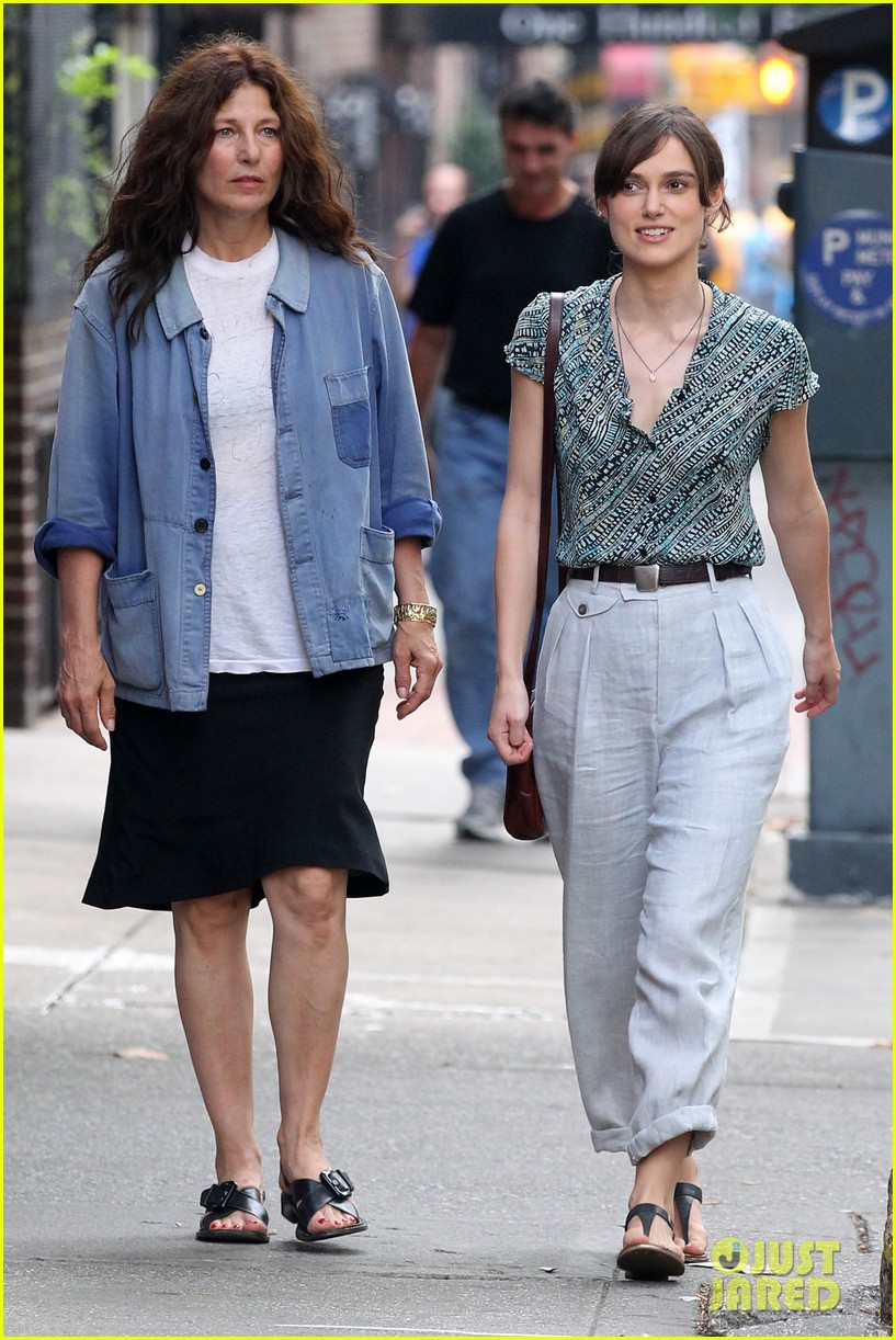Keira Knightley Song Set with Catherine Keener Photo