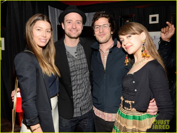 Justin Timberlake Mastercard Concert With Jessica Biel 2864606 Andy Samberg