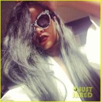 Rihanna: New Gray Hair is 'The New Black'!: Photo 2911273 ...