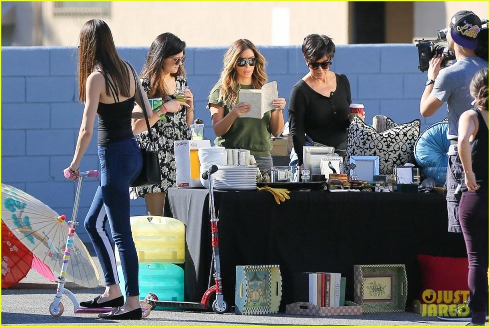 Full Sized Photo of kim kardashian family sell items at ...
